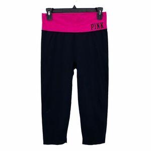 PINK Yoga by VS- Crop Haute Court Yoga Leggings